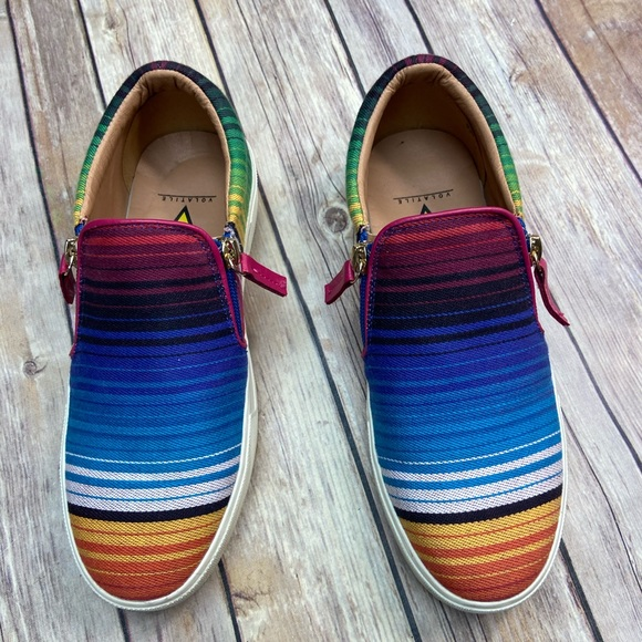 Volatile Serape slip-on tennis shoes sneakers